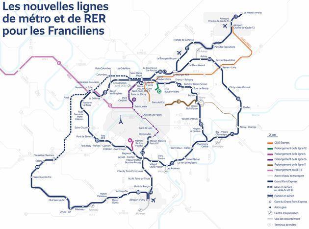 Ligne par ligne, découvrez quand les métros du Grand Paris arriveront près de chez