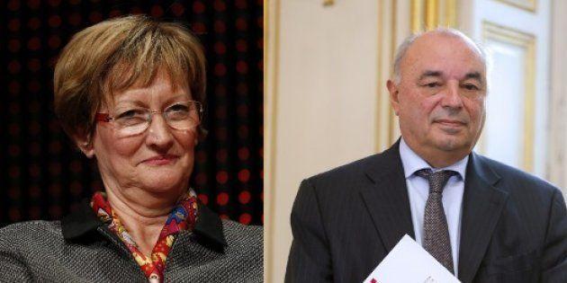 Nicole Notat et Jean-Paul
