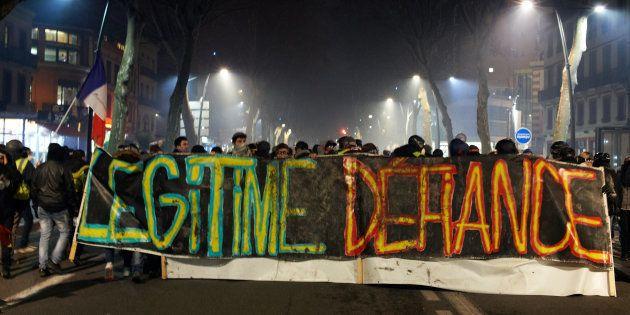 L'acte IX des gilets jaunes à Toulouse, le 12 janvier