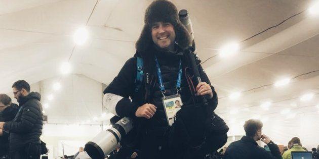 Être photographe sportif aux JO de Pyeonchang, une épreuve sans