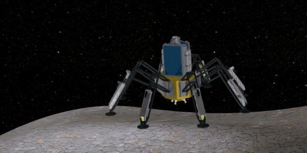 Wine, un concept de vaisseau qui mine de l'eau sur les astéroïdes et se propulse à la