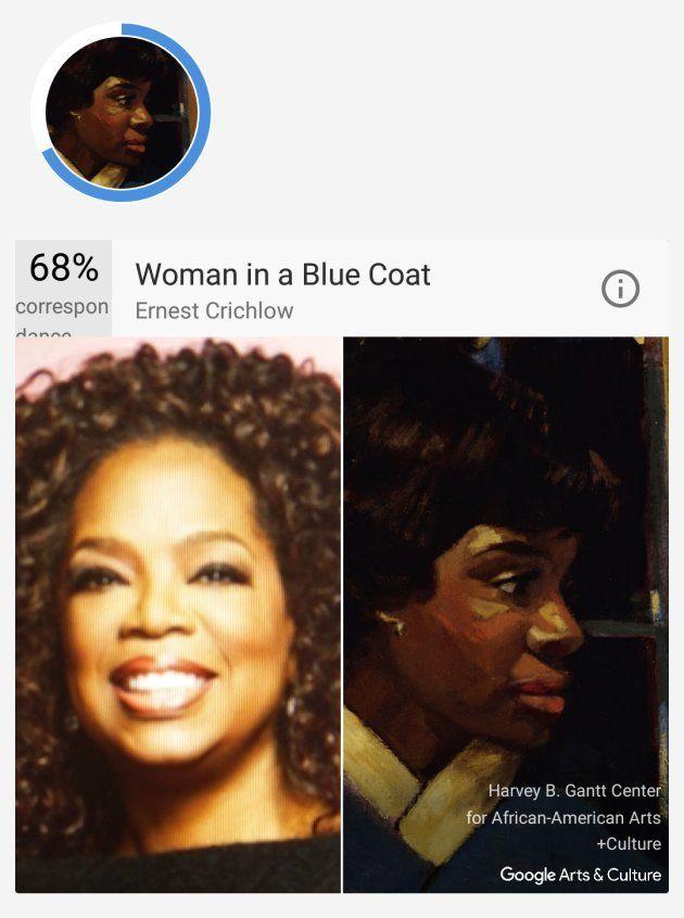 L'appli Google pour trouver le tableau célèbre auquel vous ressemblez est disponible en
