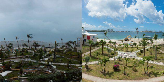 Irma: 3 chiffres qui montrent à quel point la reconstruction à Saint-Martin est bien plus lente qu'à