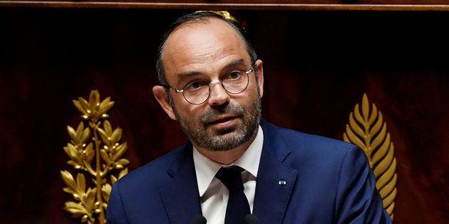Le premier ministre Edouard Philippe s'est porté garant de mener à bien l'instauration du prélèvement...