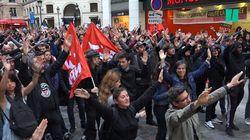 À Paris, des militants antifascistes rendent hommage à Clément Méric sur les lieux de sa