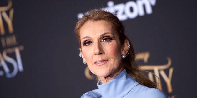 Celine Dion à l'avant-première de