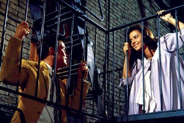 Natalie Wood et Richard Beymer dans la version originale de