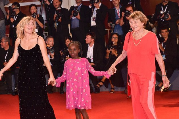 À la Mostra de Venise, Valeria Bruni Tedeschi est venue accompagnée de sa