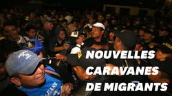 Deux nouvelles caravanes de migrants honduriens se dirigent vers les