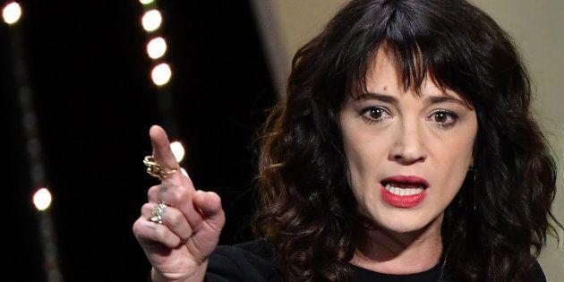 Asia Argento lors du Festival de Cannes le 19 mai
