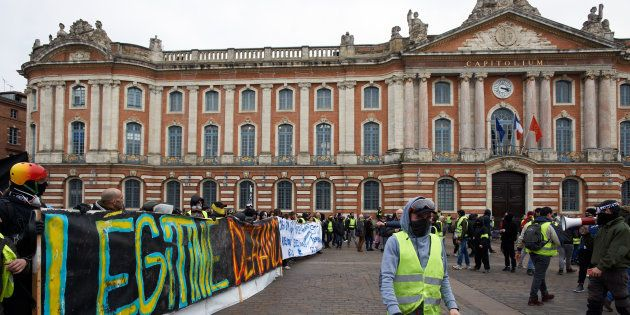 Gilets jaunes: le maire de Toulouse s'est infiltré parmi les casseurs (Photo d'illustration prise à Toulouse,...