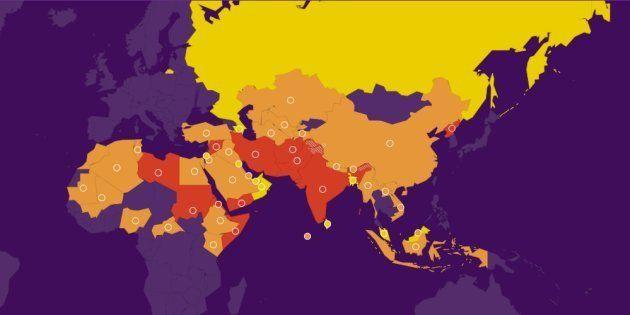 L'ONG Portes ouvertes a dévoilé son index mondial de la persécution des Chrétiens pour l'année