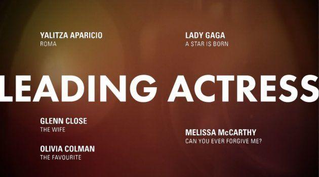 Meilleure actrice Oscars