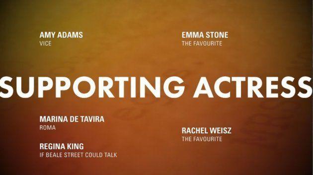Meilleure actrice second rôle Oscars