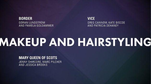 Meilleur maquillages et coiffures Oscars