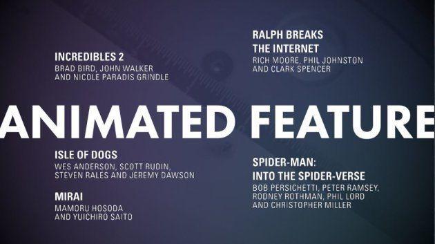Meilleur film d'animation Oscars