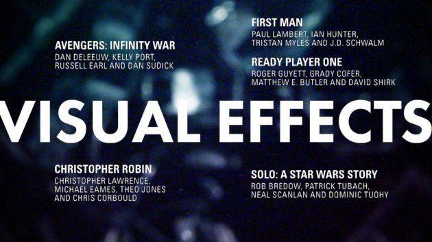 meilleurs effets visuels Oscars