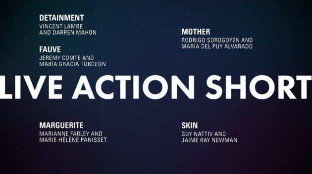 Meilleur court-métrage de fiction Oscars