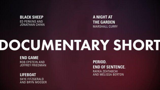 Meilleur documentaire court Oscars