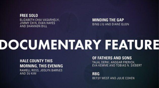 Meilleur documentaire Oscars