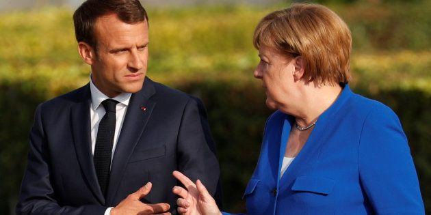 Pourquoi Emmanuel Macron reçoit Angela Merkel à