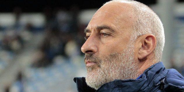 François Ciccolini en décembre 2016 alors qu'il était encore entraîneur de