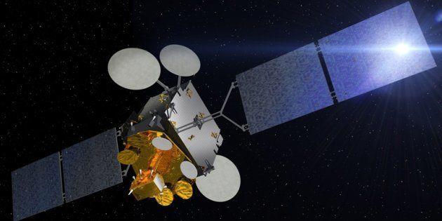 Une image du CNES représentant le satellite franco-italien