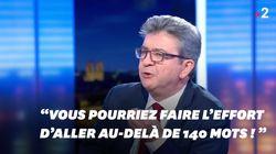 Mélenchon accuse Lapix de tronquer ses propos... avant de faire de