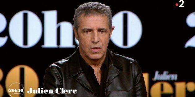 Julien Clerc compare l'affaire Johnny à sa situation personnelle