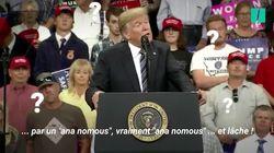 Trump a du mal avec la tribune anonyme (et avec le mot