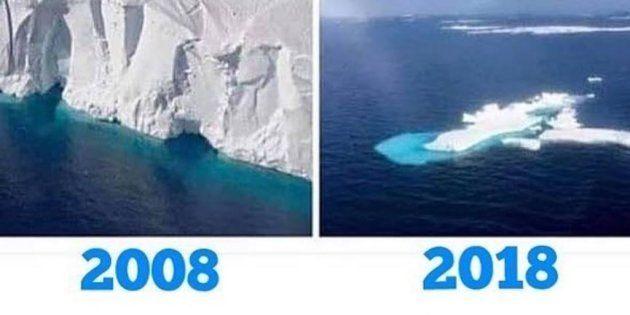 Guillaume Canet et de nombreux défenseurs de l'environnement profitent du #10yearschallenge pour sensibiliser...