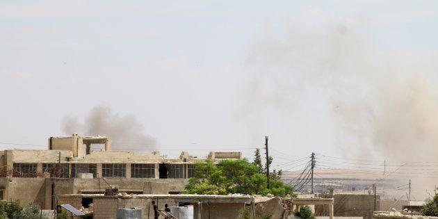 A Idlib, la Russie et la Syrie ont mené ce samedi 8 septembre les frappes les