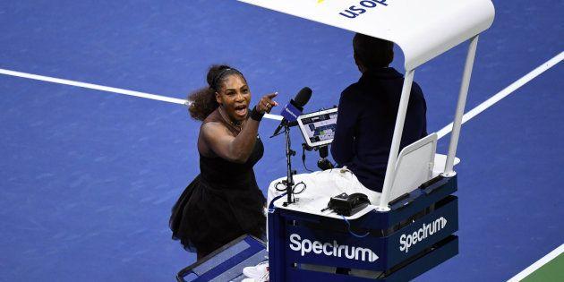 En finale de l'US Open, Serena Williams a perdu ses nerfs (et le