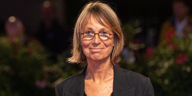 Francoise Nyssen à la Mostra de Venise le 1er septembre