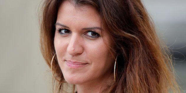 Marlène Schiappa à l'Elysée le 16 avril