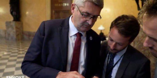 Le député Jean-Marie Fievet interrogé