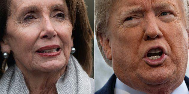 Shutdown: Privé de discours par Pelosi, Trump se venge en annulant un