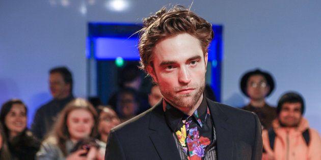 Robert Pattinson à la première de