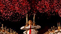 Les images impressionnantes de la cérémonie des 70 ans de la Corée du