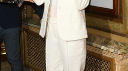 Nicole Kidman fait sensation dans un smoking blanc comme