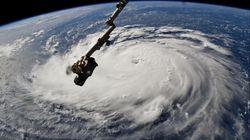 Les images de l'ouragan Florence vu de