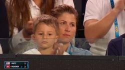 Federer s'est fait voler la vedette à l'Open d'Australie par... son