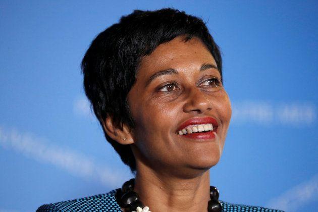 Ericka Bareigts, candidate socialiste à la présidence de l'Assemblée