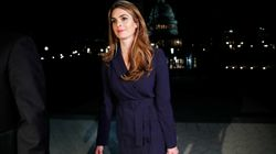 Hope Hicks, la directrice de la communication de Trump va