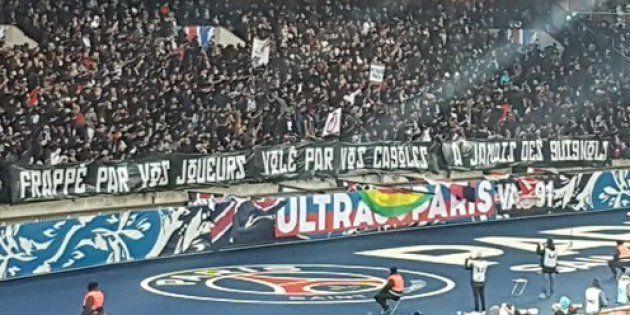 PSG-OM: Raquel Garrido avait son mot à dire sur cette banderole des ultras
