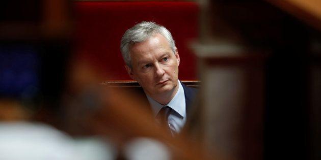 Bruno Le Maire, ici le 11 décembre, annonce qu'un projet de loi pour taxer les Gafa sera présenté dès...
