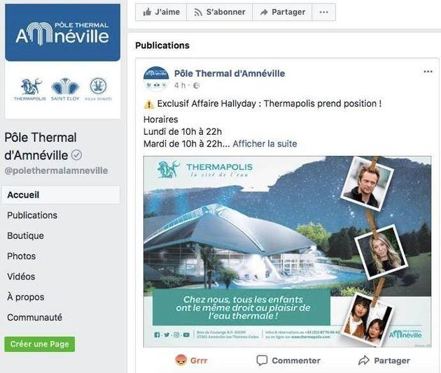 Johnny Hallyday: cette publicité des thermes d'Amnéville mettant en scène ses enfants a dû être
