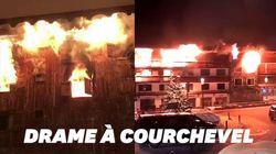 Les images de l'incendie meurtrier à