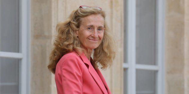 Nicole Belloubet à l'Elysée le 5 septembre