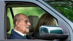Le prince Philip au volant de sa voiture et sans ceinture deux jours après son